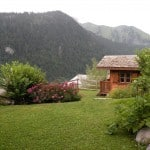 Luxury skiing chalet in Chatel France in the summer