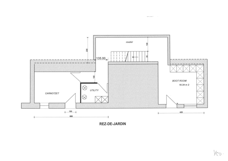 La Grange au Merle floor plans