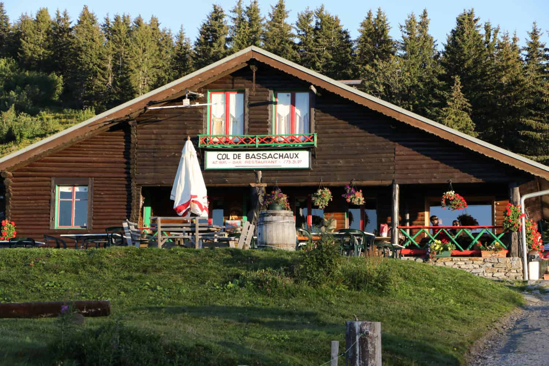 The restaurant at Col de Bassachaux