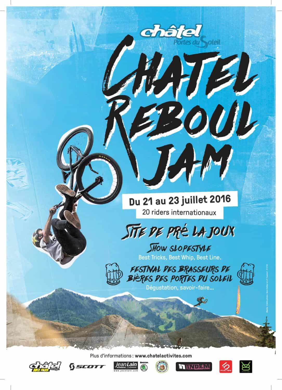 Chatel Reboul Jam poster