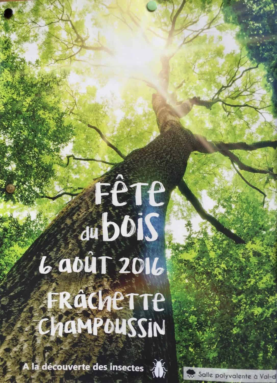 Fete du Bois poster