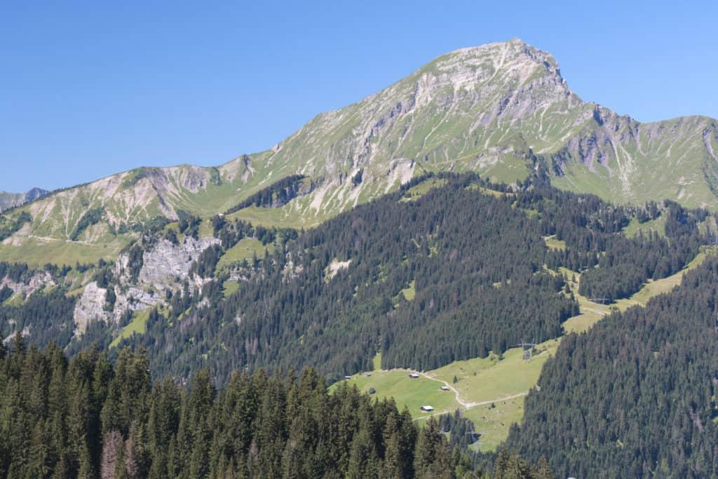 Mont de Grange in the summer