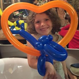 Balloon twisting at La Folie des Neiges