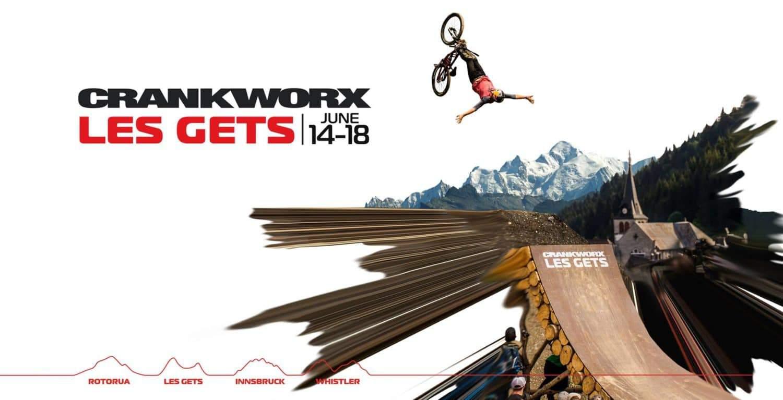 Crankworxs Les Gets Poster