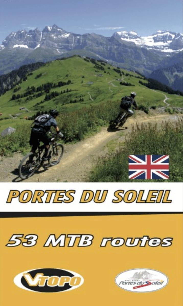 VTOPO Mountain Bike Guide to the Portes du Soleil