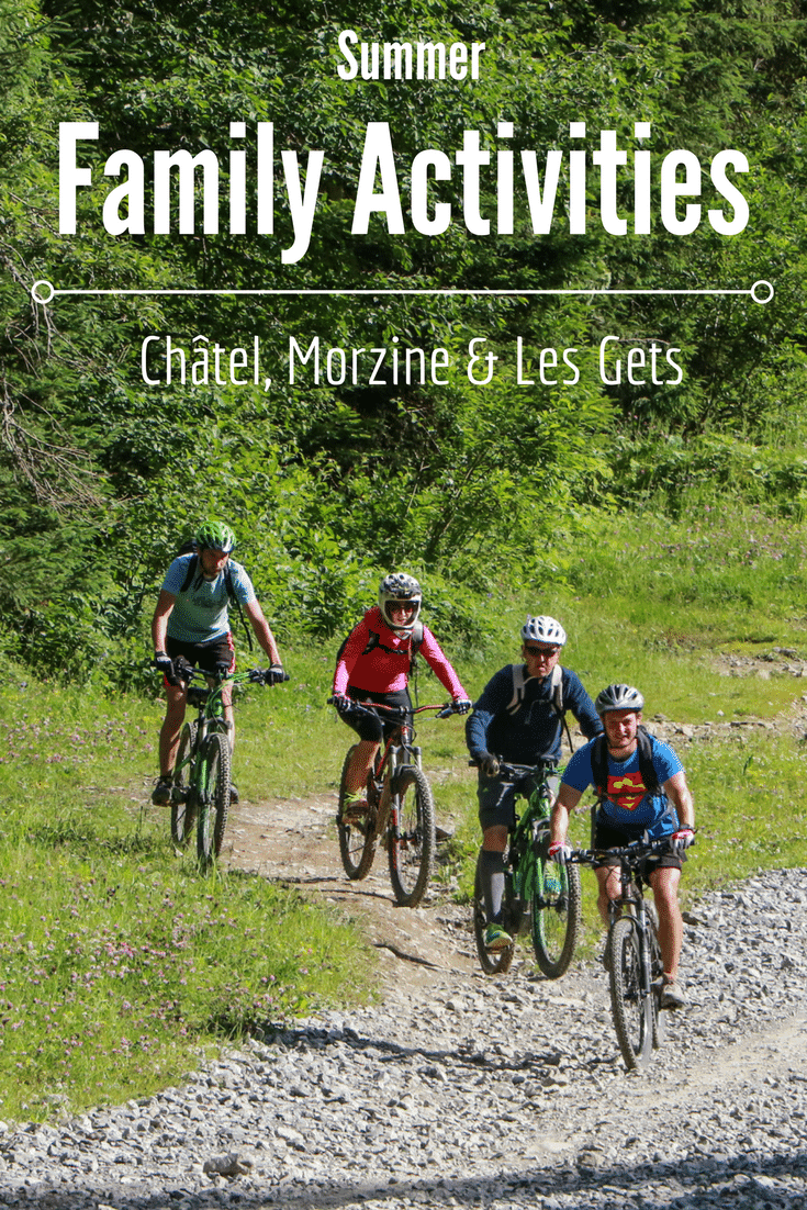 Summer Family Activities in Châtel, Morzine and Les Gets - picture of mountainbikers