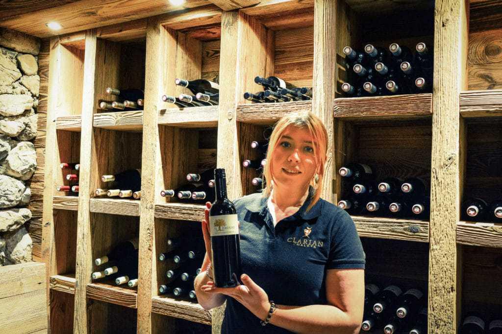 wine cellar or carnotzet