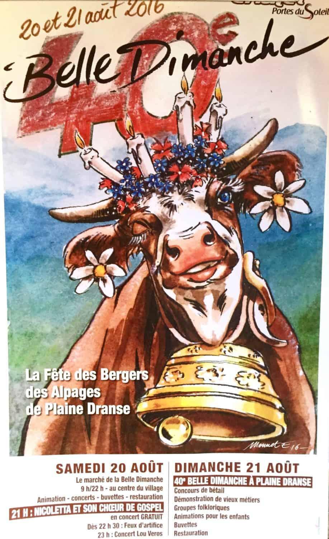 Belle Dimanche poster