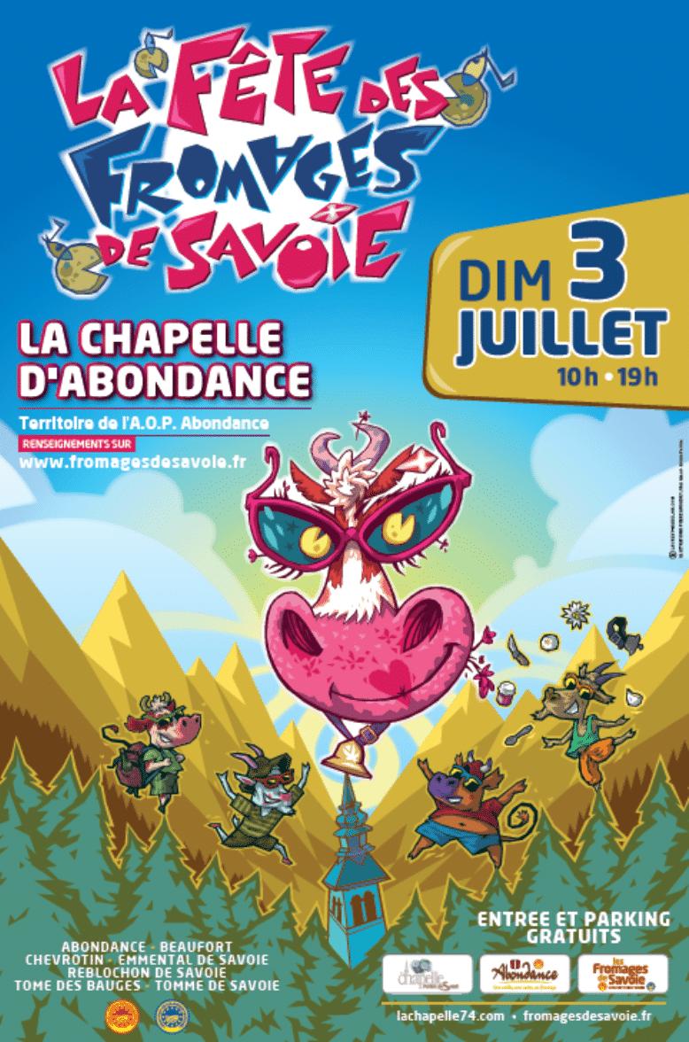 The cheese festival of La Chapelle 2017