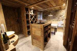 Carnotzet or wine cave