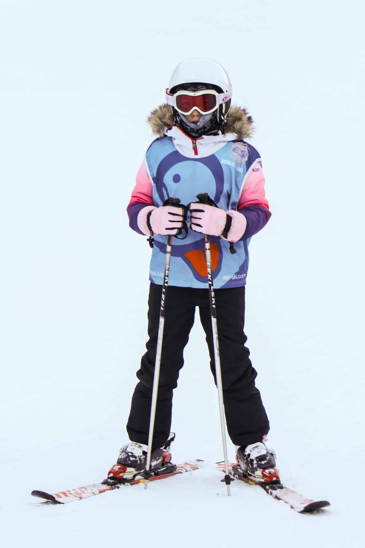 ESI ski school student
