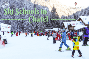 ski and snowboard schools in Chatel