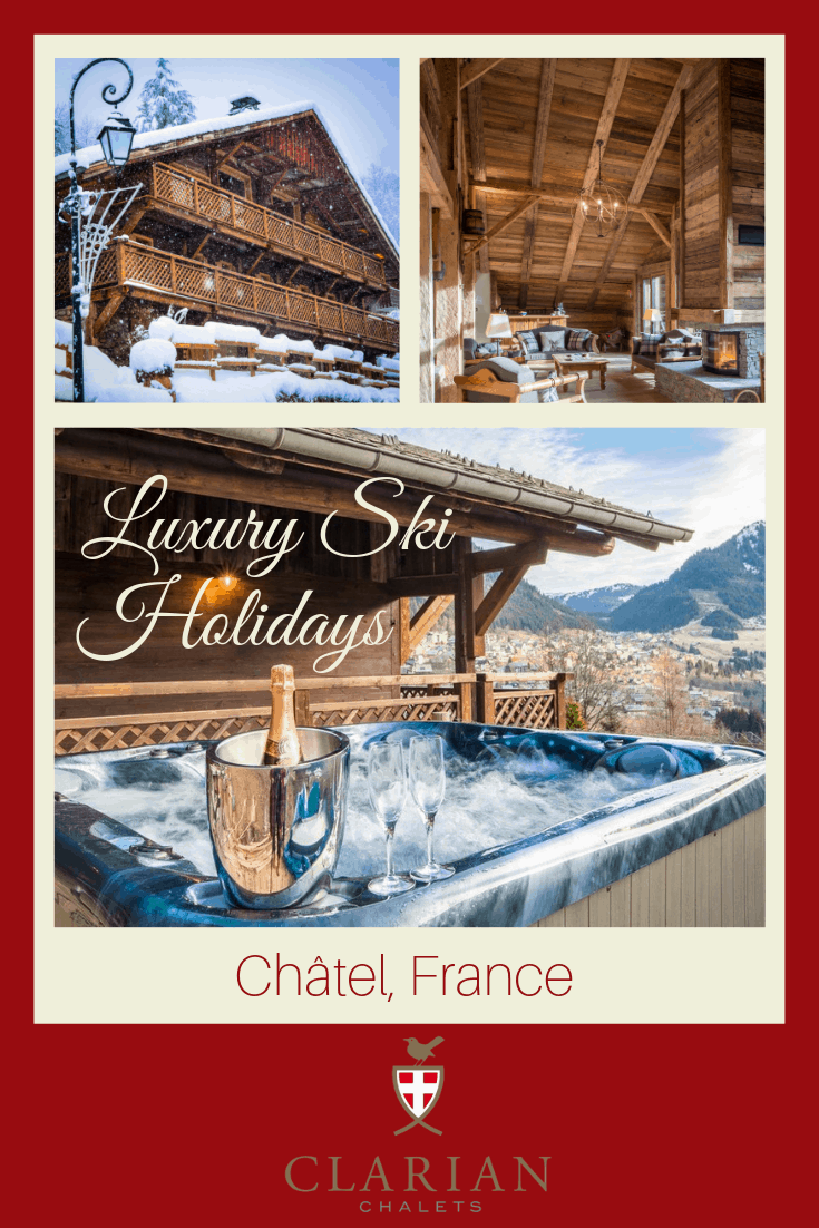 Blog title image for luxury ski holidays