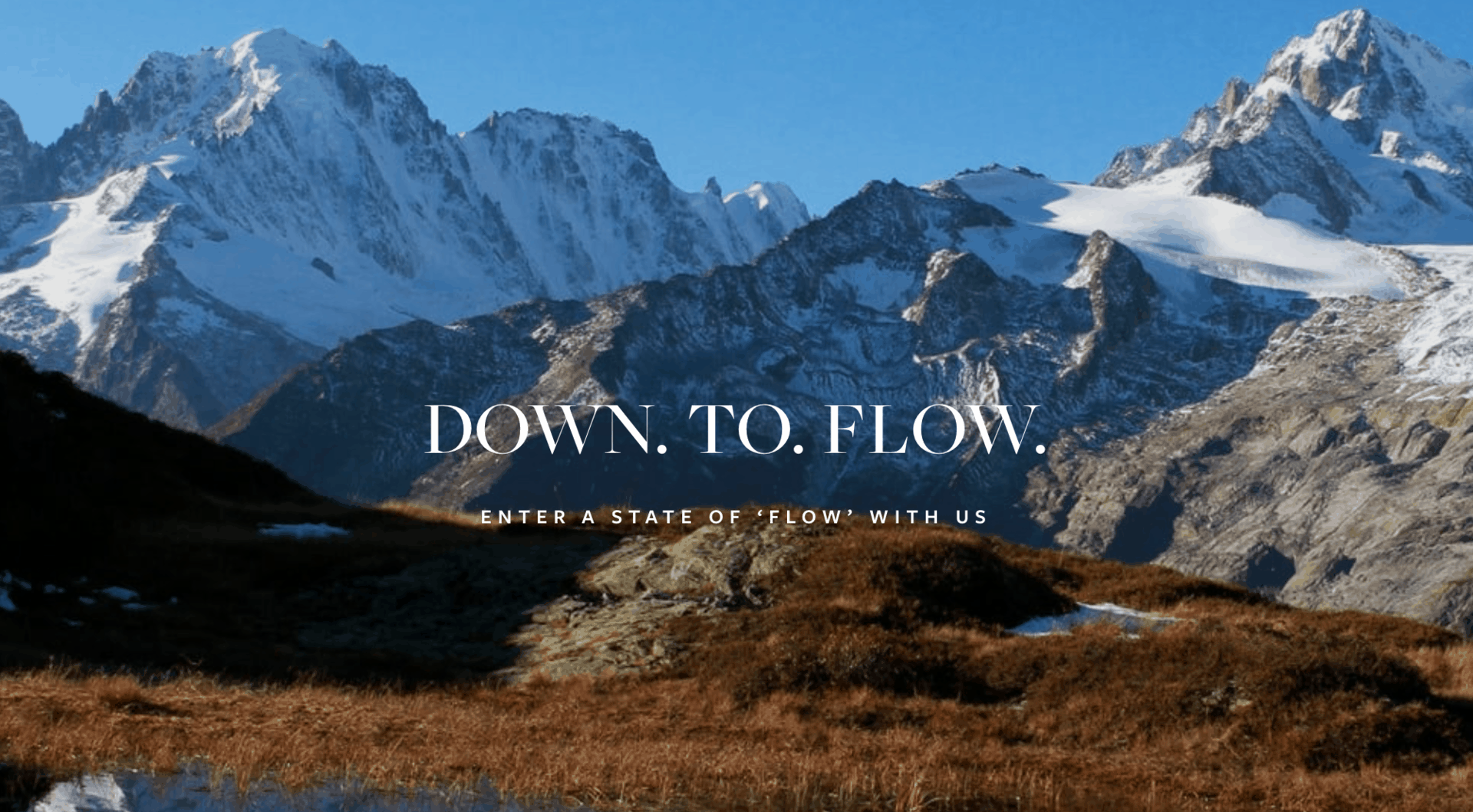 Down To Flow Front Page