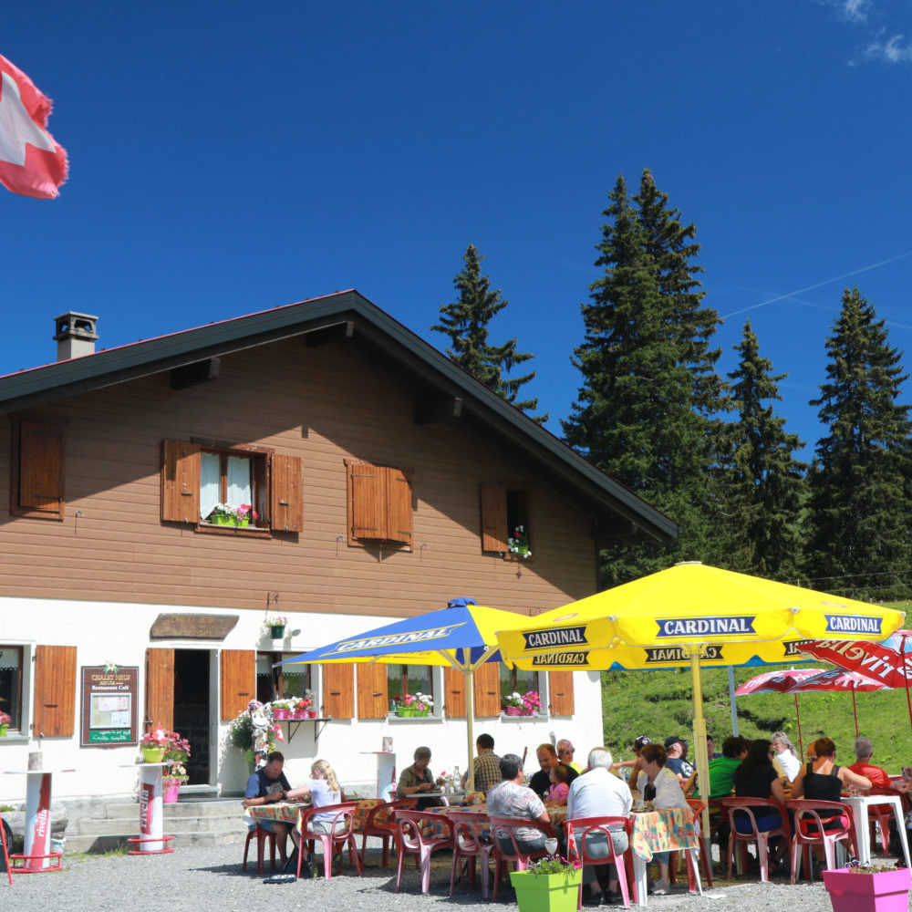 Chalet Neuf in summer