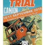 Chablais trial camion poster