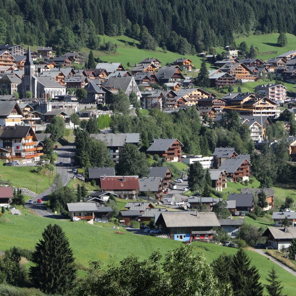 holidays in the french alps in Châtel